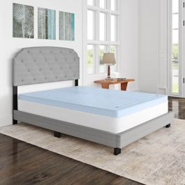 Queen Size Adjustable Air Filled Mattress Topper